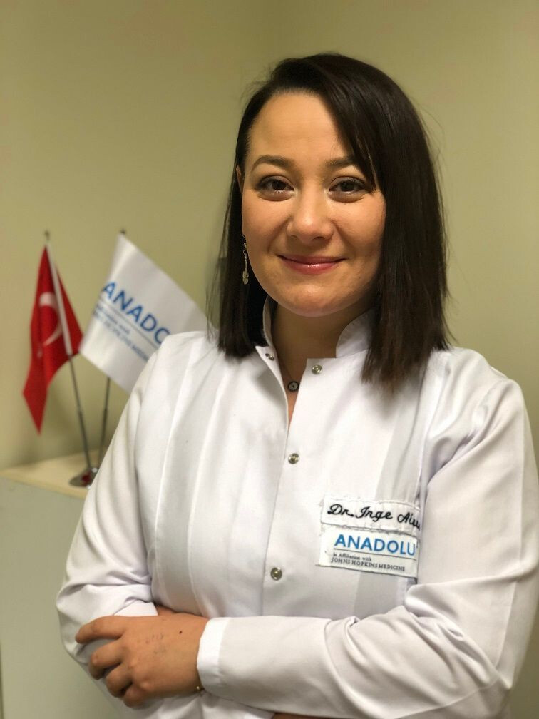 Dr. Inge Aivas, Medical Manager Anadolu